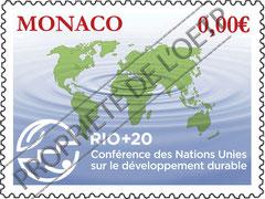 Création timbre pour l'Office des Timbres-Poste de Monaco
