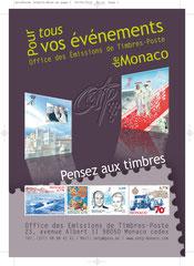 Insertion publicitaire format 105 x 180 pour le Monte-Carlo Pass 2012