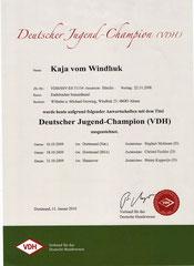 VDH Jugendchampion