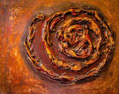 "2017-077, ""Spiral 2"", 50 cm x 40 cm"