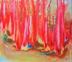 """2015-02, """"Flames"""", 40 cm x 30 cm"""