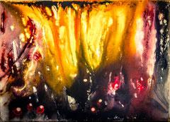 "2016-022, ""Vulcano"", 70 cm x 50 cm canvas"