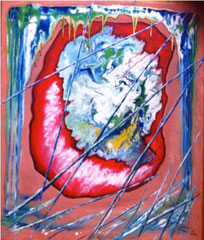 "2013-05, ""Chaos in balance"", 70 cm x 70 cm"
