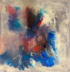 "2015-125, ""Cosmic dust I"", 60 cm x 60 cm"