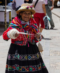 Pisac - Sur le marché... (1)