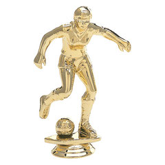 "TFS912 - 4-1/2"" Female Soccer Figure"