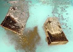 Teebeutel, Fotokunst von Jürgen Müller