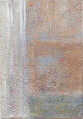 Refugium 3, 2006 ______ 30x20 Acryl, Sand, Papier auf Baumwolle
