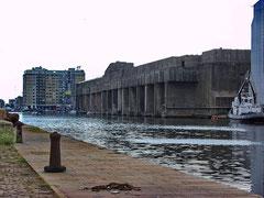 U-Bootbunker in Saint Nazaire