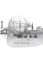Hamburg  entworfen von Silvio Schulze, aus Weimar