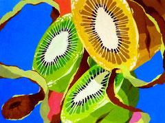 色彩構成(果物)