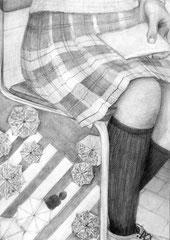 東京芸術大学先端芸術表現科合格者作品(イメージ構成デッサン)