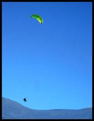 Vol de pente sympa au Col du Lautaret.... Photo Lolo Hemard
