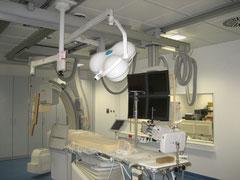 Krankenhaus Nagold - Einbau eines Linkskerzkathedermeßplatz