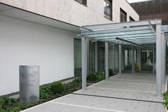 Klinikum Sindelfingen - Einbau Othopädische Ambulanz - Eingangsbereich (Aussen)