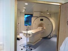 Krankenhaus Nagold - Einbau eines Magnetresonanztomograph