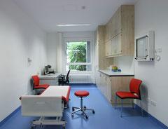 Klinikum Sindelfingen - Einbau Othopädische Ambulanz - Sprechzimmer/Behandlungsraum