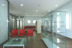 Klinikum Sindelfingen - Einbau Othopädische Ambulanz - Warte- und Flurbereich