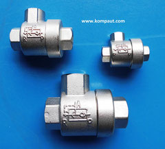 KOMPAUT Quick eshaust valve made in Italy