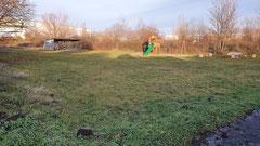 unsere Festwiese im Winter