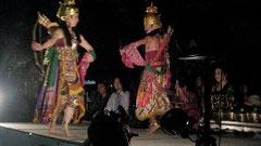 ガムラン演奏と踊り