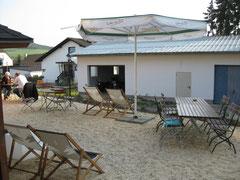 Beim Hotel Sassor in Battenberg-Dodenau ist Strand-Feeling angesagt