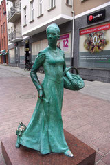 Une statue parmi d'autres