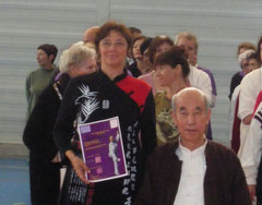 remise de diplôme par Maître Zhang guangde de Pékin