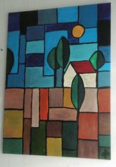 abstrakte Landschaft - 2015      verkauft