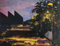 Meenz 6, 2014, acrylic on canvas, 100 x 130 cm