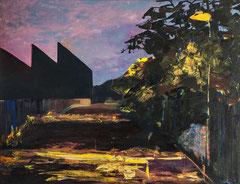 Meenz 6, 2014, Acryl auf Leinwand, 100 x 130 cm