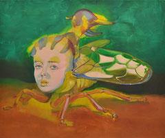 Zart besaitet, 2020, Öl auf Leinen, 100 x 120 cm