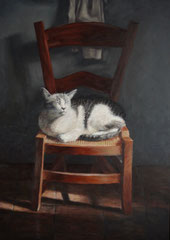 Poes Major, o/a/p, 50x71cm