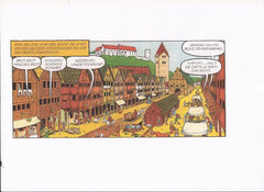Landshut, Altstadt um 1300