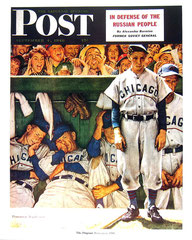 Copertina di The Saturday Evening Post - Dugout