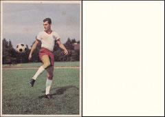 Beckenbauer, 1965, Bergmann Postkarte, Rückseite fehlt