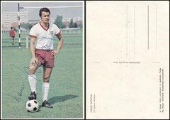 Nowak, 1965, Bergmann Postkarte, Dank an SF Klaus