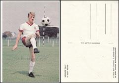 Olk, 1965, Bergmann Postkarte, Dank an SF Klaus