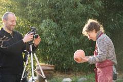 Le tournage a été jouyeux ...