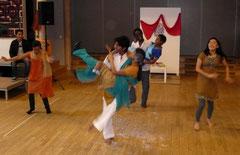 Ein weiterer Höhepunkt: am 8. März war Holi, das südostasiatische Frühlingsfest...