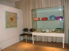 Ausstellung 2007 in Freilassing bei  der Künstlerin Recca Arya