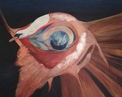 change 150 cm x 120 cm Leinwand auf Keilrahmen Acryl, Tempera, Öl, fixiert
