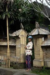 Portrait de femme Balinaise