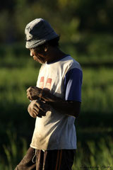 Homme Balinais
