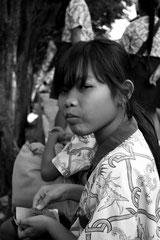Portrait de jeune fille Balinaise