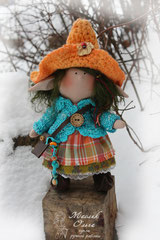 Эльф, текстильная кукла. Маслик Ольга