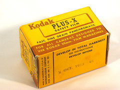 Kodak Plus-X Safety Film (1953)