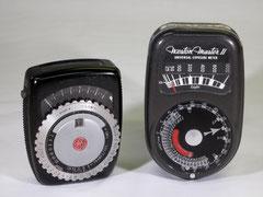 General Electric Exposure Meter Type PR-1; Weston Master II Universal Exposure Meter
