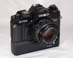 Minolta X-700 with Electronic Power Winder M-1 (1981-1998)