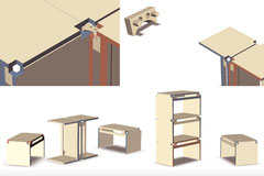 Wandelhocker – kombinierbares Möbel zur individuellen Raumgestaltung, formwichte, Dresden